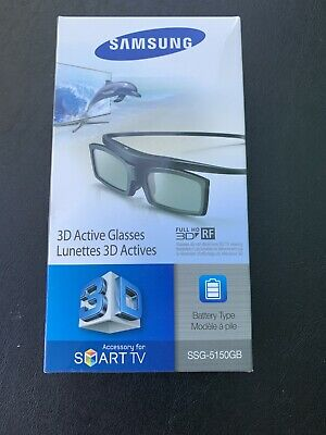 New Samsung 3D TV Active Glasses SSG-5150GB sealed