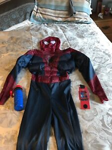 Spider-Man costume size 7/8 yrs