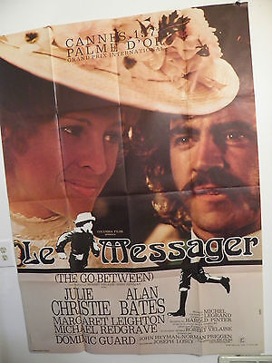The Go-Between 1971 Julie Christie Alan Bates   Large French poster 47 by 63