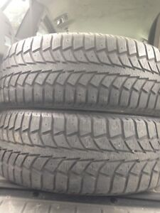 2-195/65R15 Uniroyal winter tires