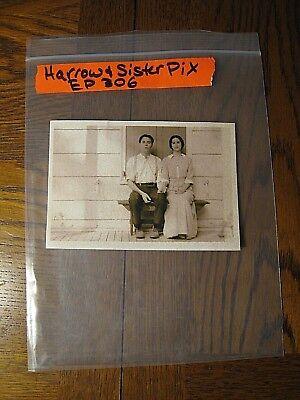 Boardwalk Empire Props -- Harrow & Sister Picture, Episode 306