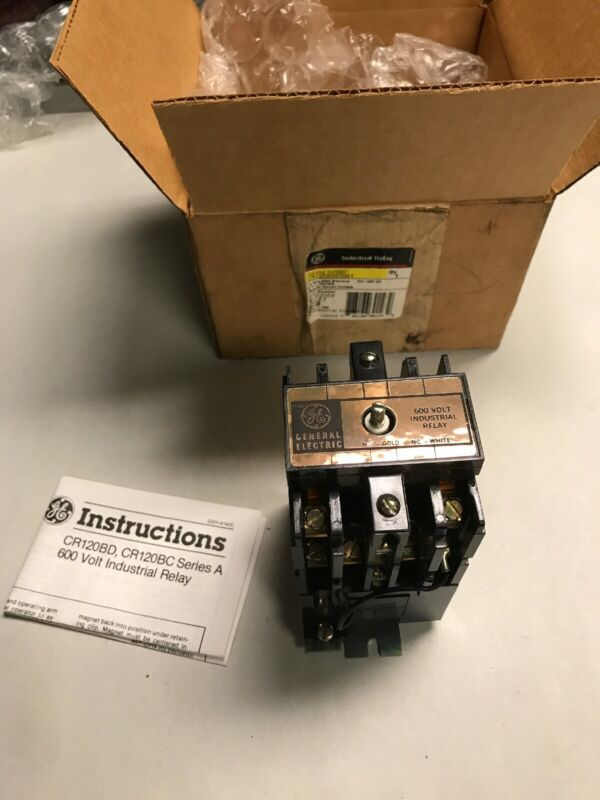 General Electric CR120BD05041 Industrial Relay