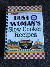 Busy woman's slow cooker recipe book Terrigal Gosford Area Preview
