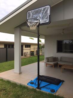 Basketball Hoop System - Adjustable Height