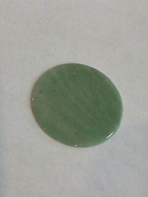 Genuine Gemstone Watch Dial/Disc - Green Aventurine 40 MM