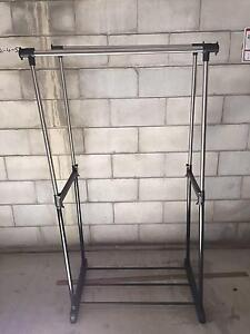 Double clothes rack, as new condition Greenslopes Brisbane South West Preview