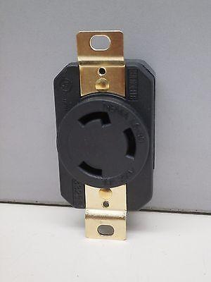 Nema L6-30r Turn-twist-lock Locking Receptacle Outlet 30a 250v 2p 3w L6-30