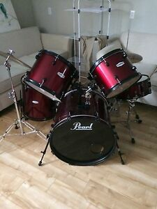 Drums for sale. Pearl drums