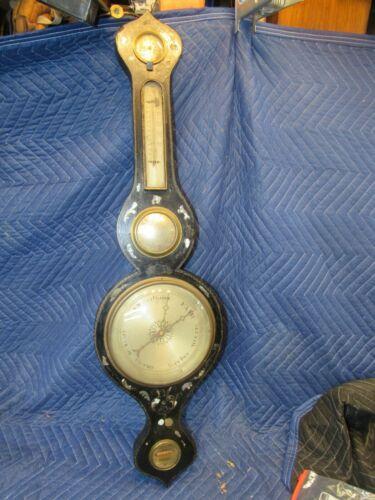 unusual antique barometer 1700
