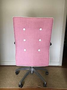 Audrey Hepburn Style Pink Office Chair Greenwich Lane Cove Area Preview