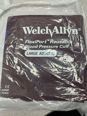 Welch-allyn Large Adult 12 Flexiport Reusable Blood Pressure Cuff