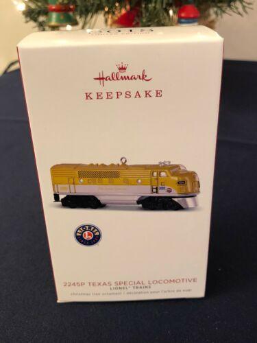 2018 Hallmark Lionel Train Ornament, 2245P TEXAS SPECIAL LOCOMOTIVE, REPAINTED
