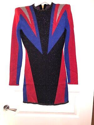 PUMA x BALMAIN Jacquard Womens Dress XS BNWT