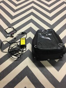 Motorcycle Tank bag and Battery Charger