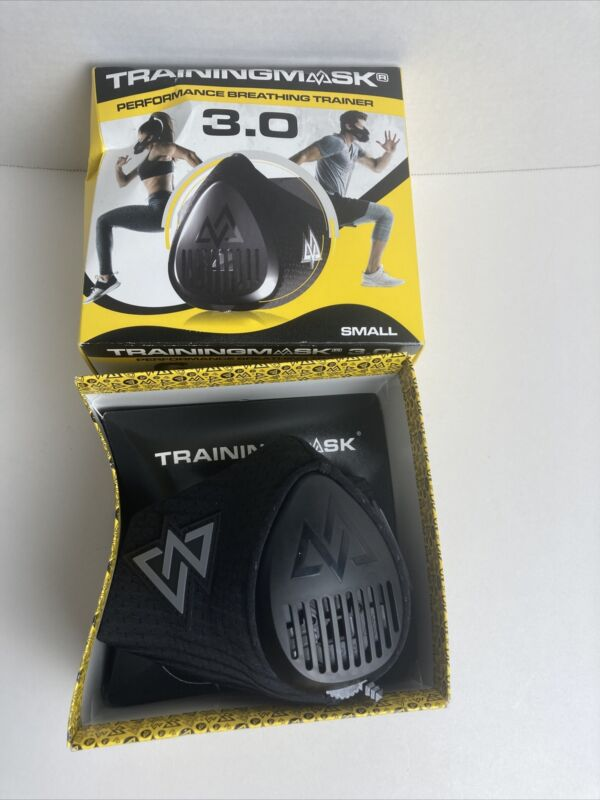 Training Mask 3.0 for Performance Fitness Workout Mask Running Mask Black -SMALL