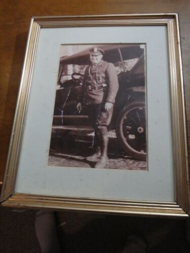 CONNECTICUT STATE POLICE 1939 CT PARKWAY POLICE STATE TROOPER PHOTOGRAPH