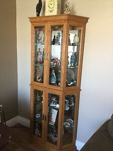 Curio/china cabinet for sale.