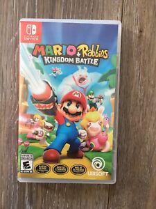 Nintendo switch Mario +Rabbids kingdom Battle