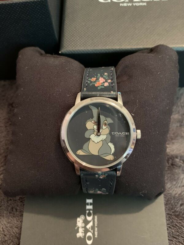 Disney X Coach Chelsea Watch With Thumper