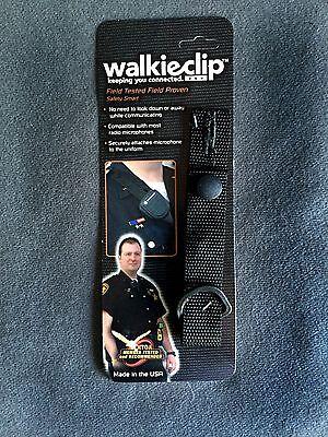 Walkieclip Epaulet Holder Shirt Attachment Policefireemt Radio