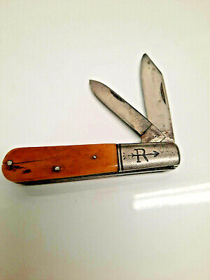 Vintage Russell Barlow Knife 1884-1933