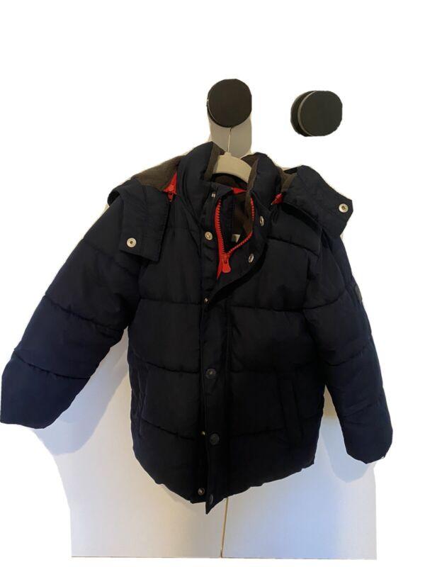 Gap Navy Puffer Coat 4T
