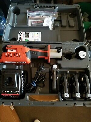 Ridgid Rp 241 12 341 14 Press Tool Kit Copper Propress