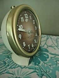 Vintage Westclox Baby Ben Wind Up Alarm Clock Made In USA  WORKS!  (alarm dial)
