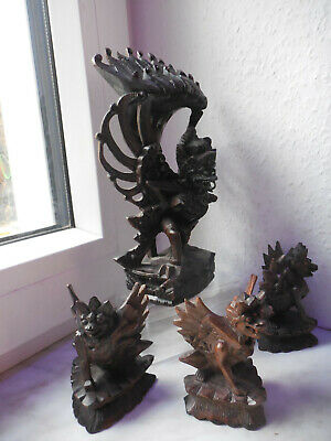 Schale Bronze Garuda Bronzeschale Tempel Opferschale Handarbeit Vogel Java Asien