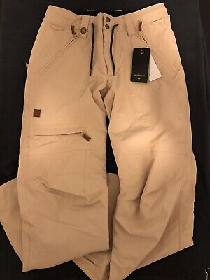 New $170 Men's XS Quicksilver Elmwood Ski Snowboard Pants EQYTP03132
