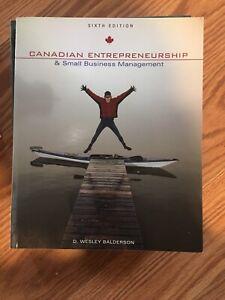 Canadian Entrepreneurship Textbook