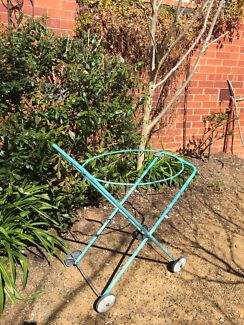 Laundry Trolley - suits oval basket  Deakin South Canberra Preview