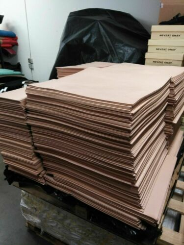 FULL GRAIN  VEGTAN  LEATHER THICKNESS 2/4-3/4-5/6-8/9-9/10-11/12 OZ set BUNDLE