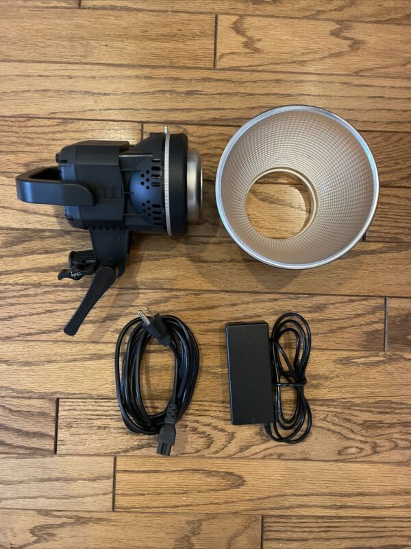 GVM 80W Portable LED Video Light White 5600K Daylight CRI 97+