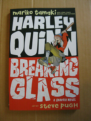 Harley Quinn Glasses (Harley Quinn: Breaking Glass by Mariko Tamaki (2019,)