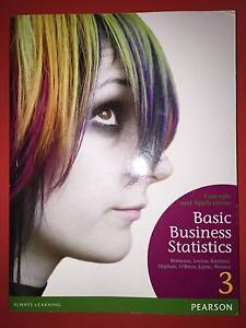 Concepts and Application Basic Business Statistics Malvern Stonnington Area Preview