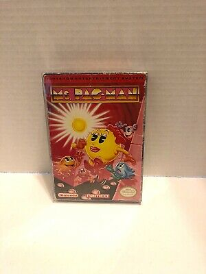 Ms. Pac-Man Namco Version Complete CIB Nintendo Entertainment System NES