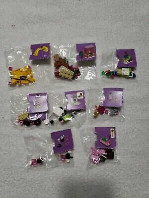 Lego Friend Lot of 8 from Advent Calendar - Sealed in Package! 41102