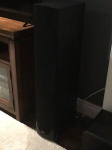 Paradigm 9v6 black speakers. Original price 875.00 list