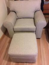 Armchair with ottoman East Hills Bankstown Area Preview