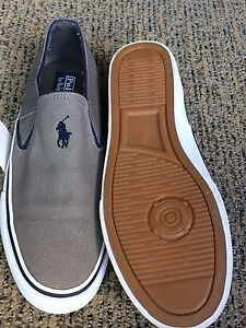 Polo shoes slip on size 9