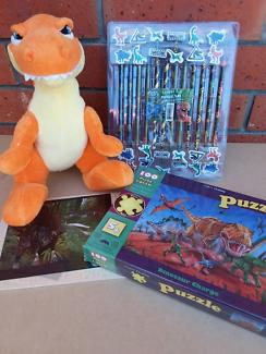 Dinosaur bundle puzzles