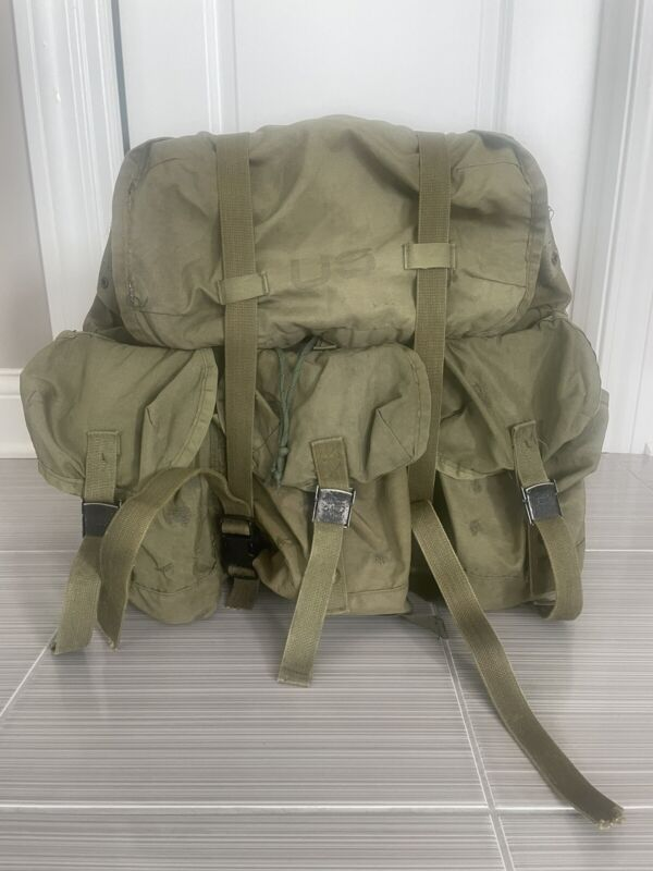 Tactical Hiking U.S. Army Issue Medium Alice Rucksack Backpack LC-1 Ruck
