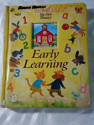 My First Treasury:  Early Learning - Padded Board Book - Lovely Art  Learn Padded Board Book