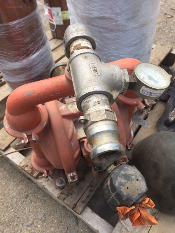 Wilden M4 Diaphragm Pump #67 316 Stainless Steel Pneumatic Air