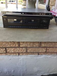 Cassette player and DVD player