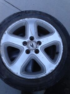 4 mags  Acura 17 pouces  5x114,3