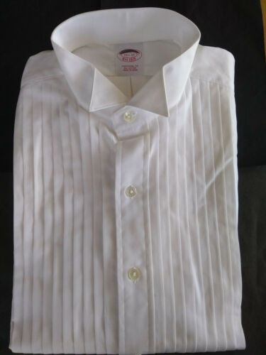 NWT Brooks Brothers White Formal Shirt 15.5-32 Traditional Fit MSRP $135