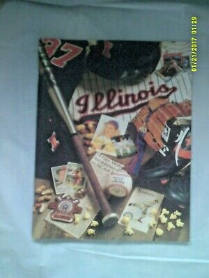University of Illinois Fighting Illini 1990 Baseball Yearbook  72 Pages