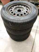 Used 15 inch steel rims and tyres 205/65r15 Werribee Wyndham Area Preview